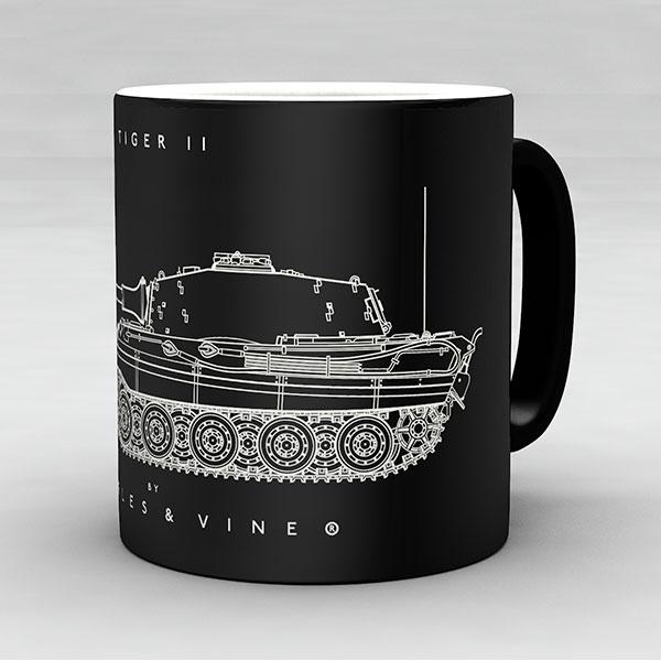 Tiger II tank mug by Staples and Vine Ltd.