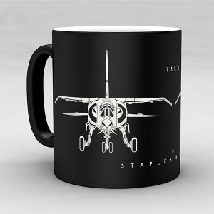 TSR2 aircraft aviation mug by Staples and Vine Ltd.