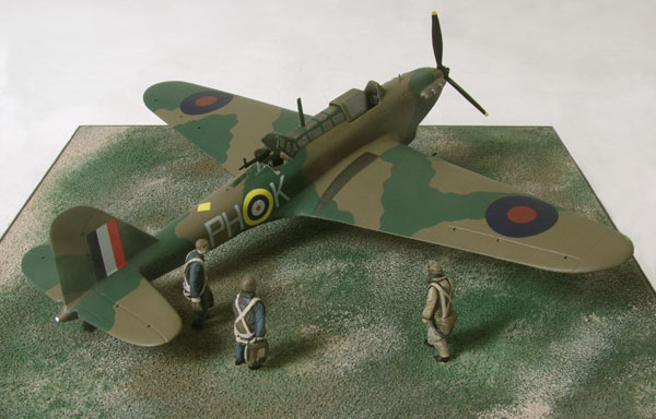 Fairey Battle Mk I 1/72 scale limited edition pewter aircraft model of Victoria Cross recipients Garland and Grey handmade by Staples and Vine Ltd.