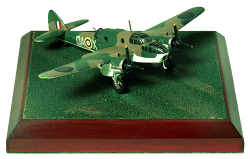 Bristol Beaufort Mk I 1/144 scale pewter limited edition aircraft model As flown by K Campbell recipient of the Victoria Cross. Handmade by Staples and Vine Ltd.