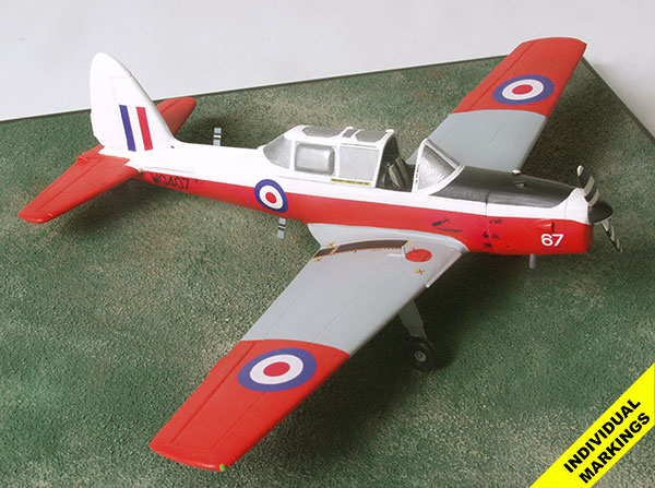 de Havilland Chipmunk 1/48 scale pewter aircraft model available in your colours and markings. Handmade by Staples and Vine Ltd.