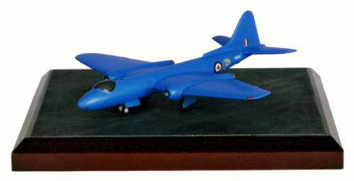 English Electric Canberra Prototype 1/144 scale pewter limited edition aircraft model as flown on its maiden fight by Roland Beamont. Handmade by Staples and Vine Ltd.