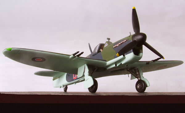 Fairey Firefly Mk I 1/72 scale pewter limited edition aircraft model. From one of the raids on the Tirpitz. Handmade by Staples and Vine Ltd.