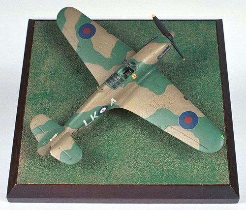 Hawker Hurricane Mk I Dennis David 1/72 scale pewter limited edition aircraft model from the Battle of France. Handmade by Staples and Vine Ltd.