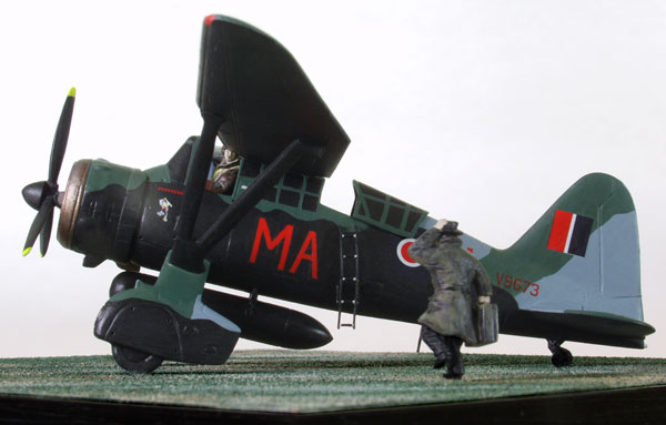 Westland Lysander Mk IIIA (SD) 1/72 scale pewter limited edition aircraft model as used to transport agents to and from occupied France. Handmade by Staples and Vine Ltd.