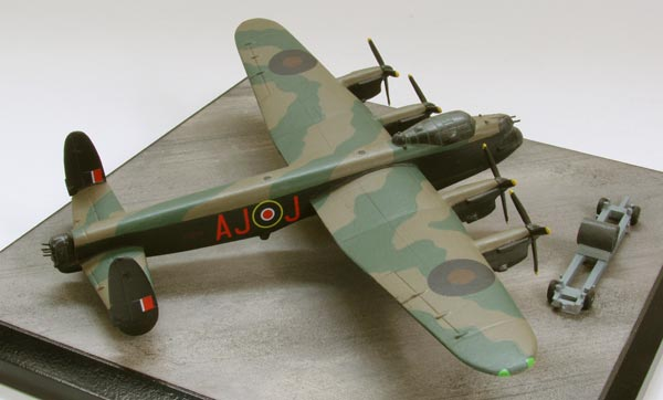 Avro Lancaster B MK III Special Dambuster 1/144 scale pewter limited edition aircraft model as flown on the famous Dams Raid. Handmade by Staples and Vine Ltd.