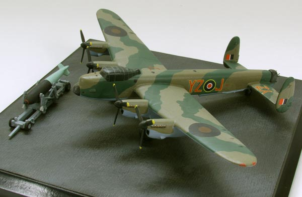 Avro Lancaster B MK I Special Grand Slam 1/144 scale pewter limited edition aircraft model. Handmade by Staples and Vine Ltd.