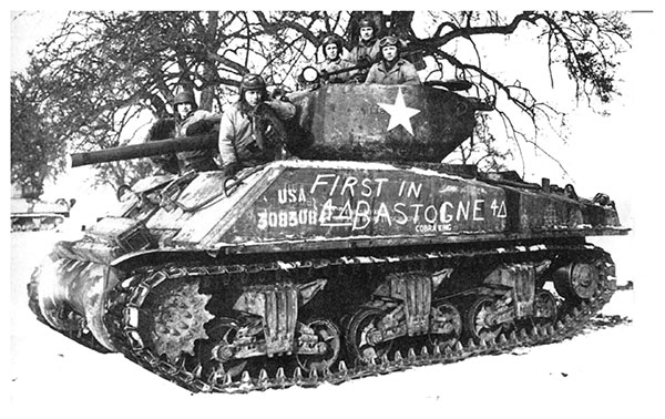 M4A3E2 Sherman Jumbo 1/48 scale limited edition pewter tank model. 'Cobra King' the first tank into Bastogne. Handmade by Staples and Vine Ltd.