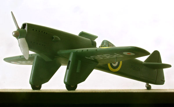 Martin Baker MB2 1/72 scale limited edition pewter aircraft model. A model of the pre war prototype handmade by Staples and Vine Ltd.