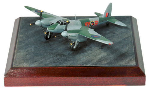 de Havilland Mosquito NF Mk XII 1/144 scale pewter limited edition aircraft model as flown by John Cunningham. Handmade by Staples and Vine Ltd.