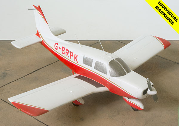 Piper Cherokee 140 1/48 scale pewter aircraft model available in your individual colours and markings. Handmade by Staples and Vine Ltd.