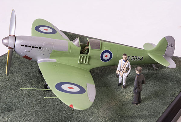 Supermarine Spitfire Prototype in 1/48 scale as first flown on its maiden flight. Handmade limited edition of 50 only in pewter by Staples and Vine Ltd.
