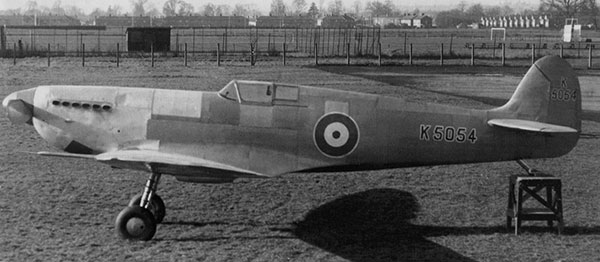 Supermarine Spitfire Prototype in 1/48 scale as first flown on its maiden flight.