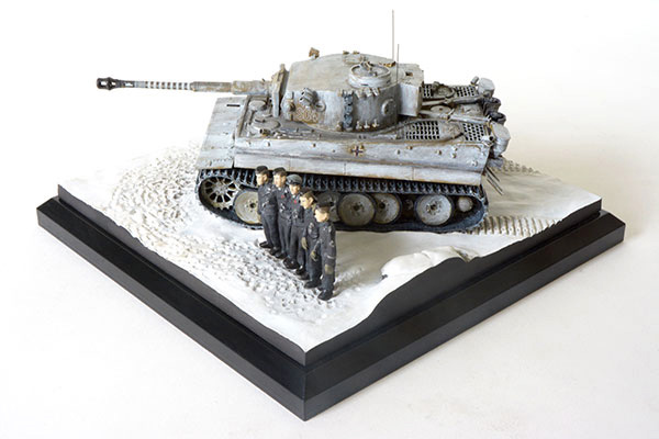 Tiger I Michael Wittmann 1/48 scale limited edition pewter tank model. The famous 'S04' from Kursk with 88 kills on the barrel. Handmade by Staples and Vine Ltd.