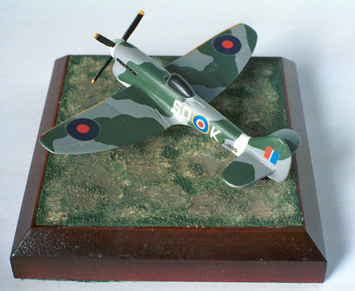 Hawker Tempest Mk V 1/144 scale pewter limited edition aircraft model. As flown to defend Britain from V1s. Handmade by Staples and Vine Ltd.