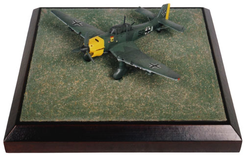Junkers Ju 87B-2 'Stuka' 1/144 scale pewter limited edition aircraft model as flown in the Battle of Britain. Handmade by Staples and Vine Ltd.