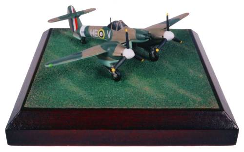 Westland Whirlwind Mk I 1/144 scale pewter limited edition aircraft model. The elegant twin engine Westland fighter. Handmade by Staples and Vine Ltd.